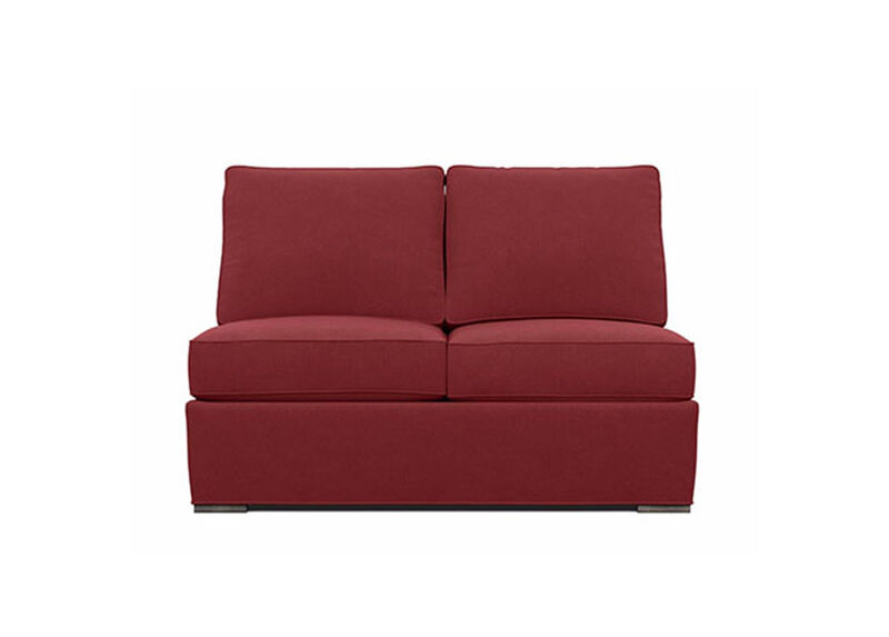 Meeting Place Armless Loveseat ,  , large_gray