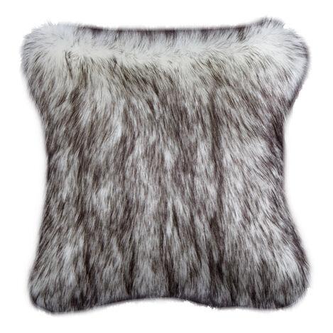 Norwegian Fox Faux Fur Pillow ,  , large