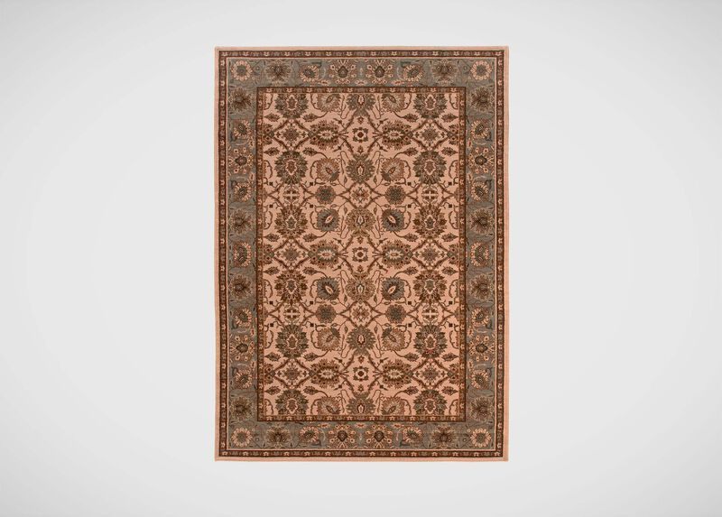 Sultanabad Area Rug, Ivory/Green ,  , large_gray