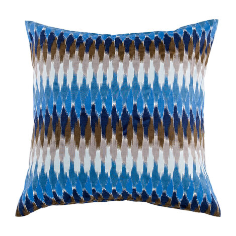 Ikat Decorative Pillow ,  , large