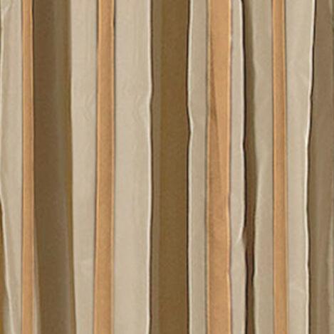 Ivory/Gold Taffeta Stripe Fabric ,  , large