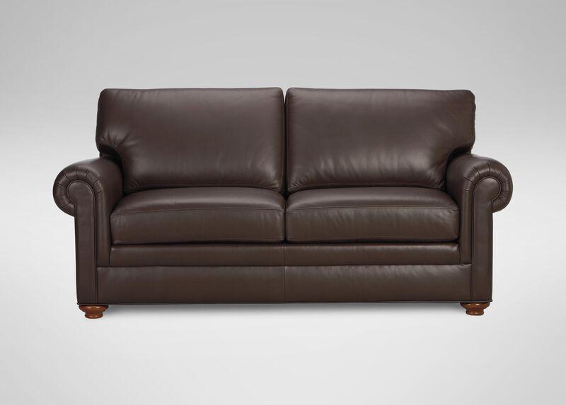 Conor Leather Sofa Sofas Amp Loveseats