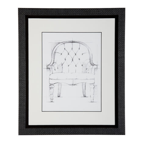 Historic Chair Sketch VI ,  , large