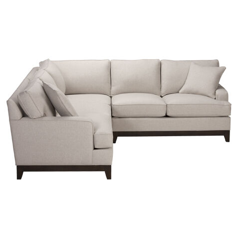 Wonderful Arcata Three Piece Sectional, Quick Ship Part 11