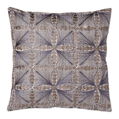 Embroidered Diamond Pillow ,  , large