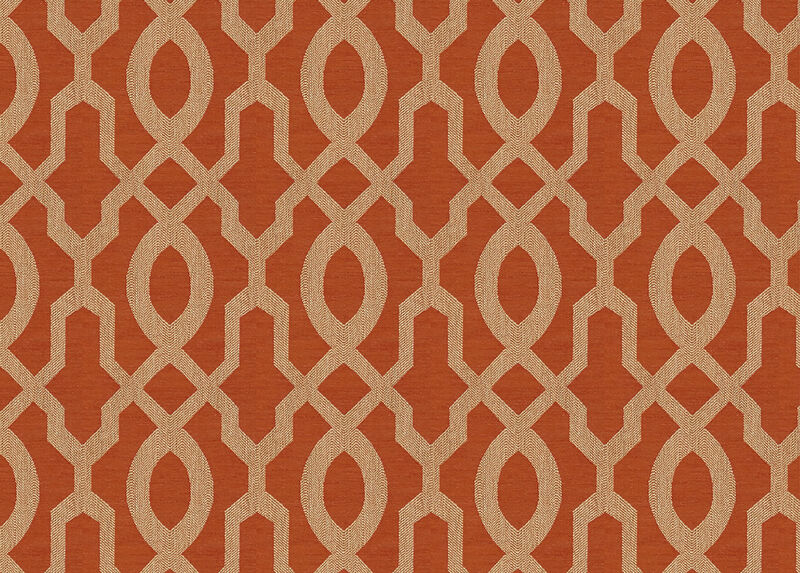 Maj Tangerine Fabric by the Yard ,  , large_gray