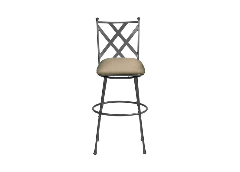 Biscayne Swivel Tall Barstool ,  , large_gray