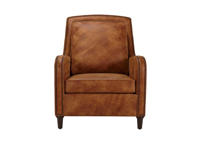Malone Leather Chair ,  , large_gray