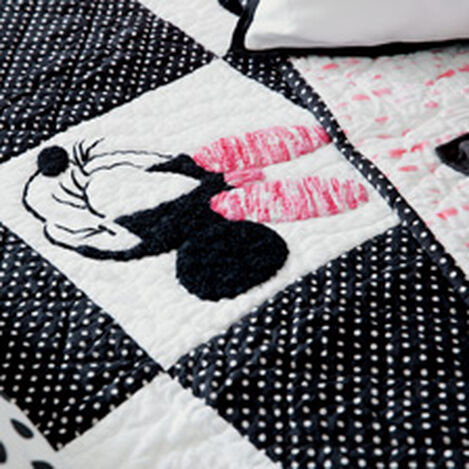 Mad About Minnie Quilt and Sham ,  , hover_image