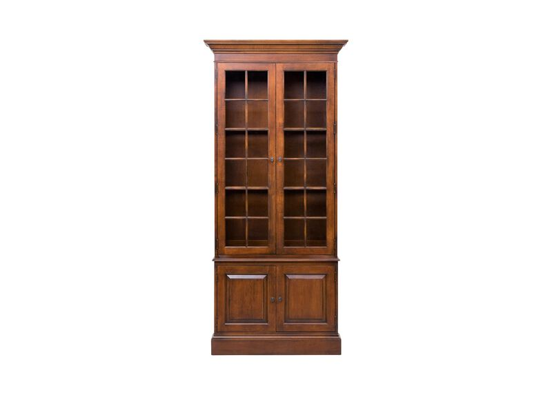 Villa Single Library Bookcase ,  , large_gray