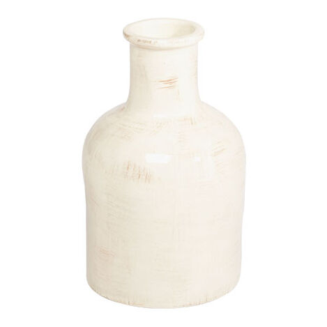 Small Antique White Jug ,  , large