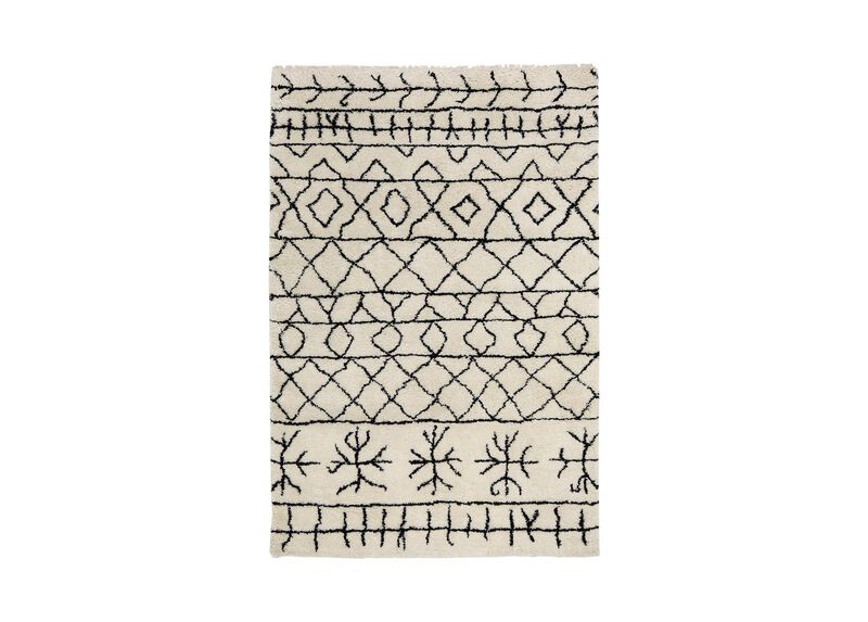 Primal Rug, Ivory/Black at Ethan Allen in Ormond Beach, FL | Tuggl