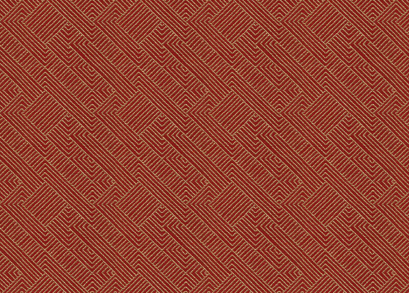 Hadi Red Fabric by the Yard ,  , large_gray