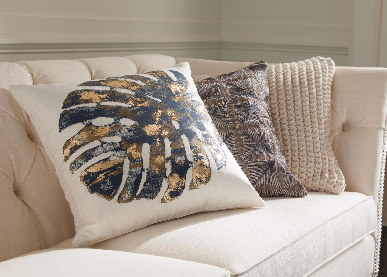 Nautical Cushion Knitting Pattern : Nautical Knit Pillow Pillows