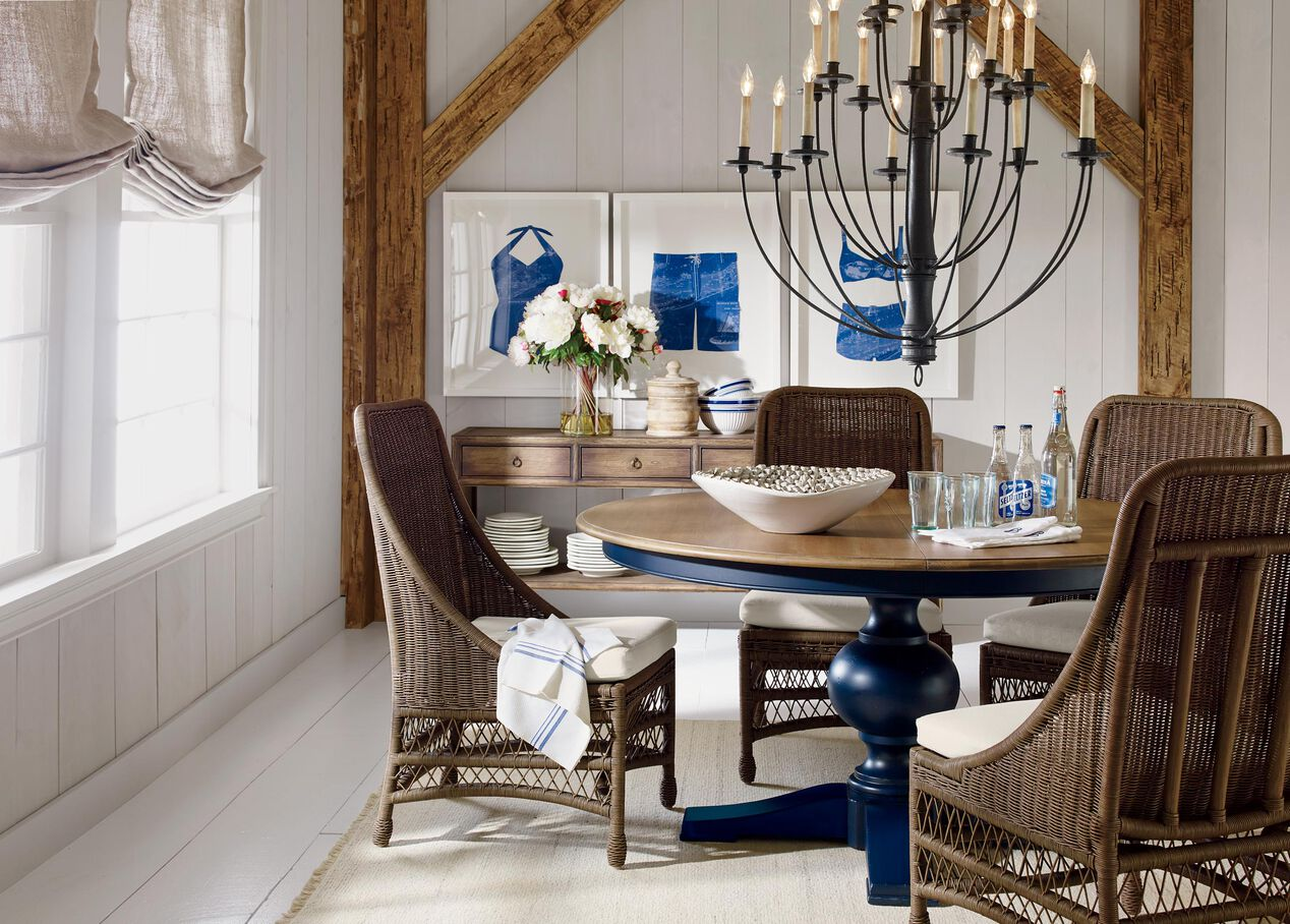 Cooper round dining table dining tables for V dining room table