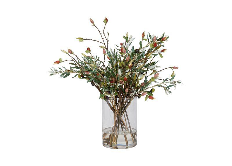 Olive Leaf and Magnolia Bud Mix ,  , large_gray