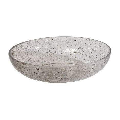 Pitted Glass Bowl ,  , large