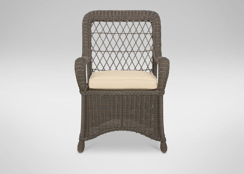 Lakehouse Dining Armchair at Ethan Allen in Ormond Beach, FL | Tuggl