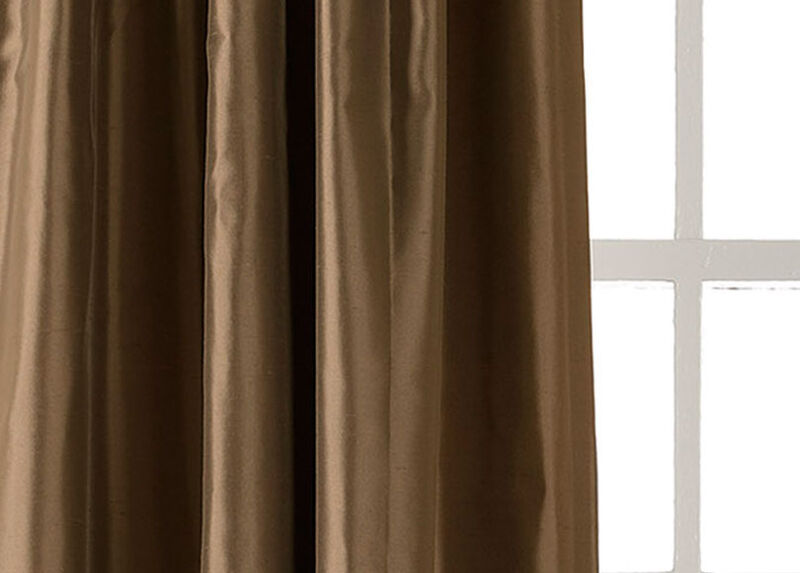 Bronze Satin Dupioni Fabric ,  , large_gray