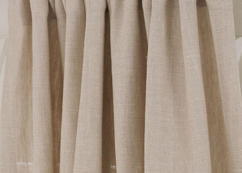 Natural Sayre Washed Linen Fabric ,  , large_gray