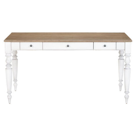Turned Leg Writing Desk ,  , large