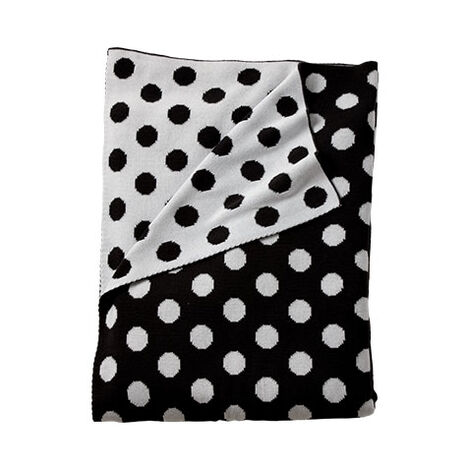 Dotty Stroller Blanket, Mickey's Ears ,  , large