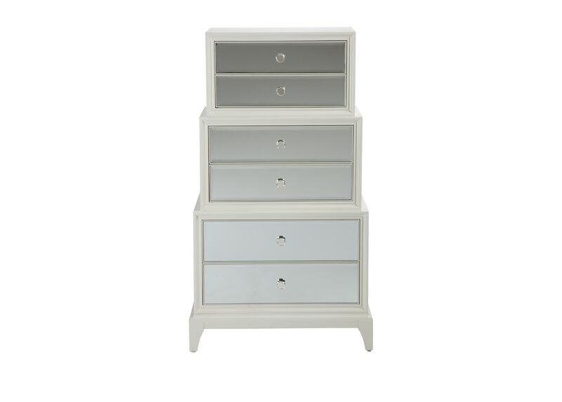 Flynn Mirrored Chest ,  , large_gray