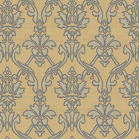 Martinique Indigo Fabric ,  , large