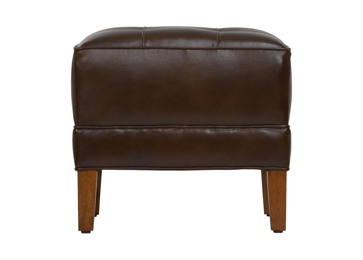 Nassau square leather ottomans ottomans benches for H furniture facebook