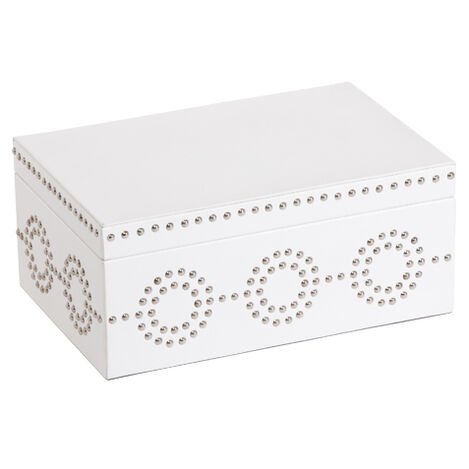 White Nail Deco Box ,  , large