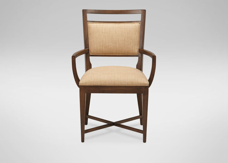 Grady Upholstered Back Armchair Arm Host Chairs