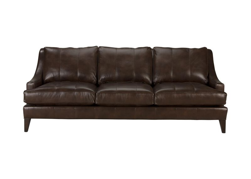 Emerson Leather Sofa, Quick Ship ,  , large_gray