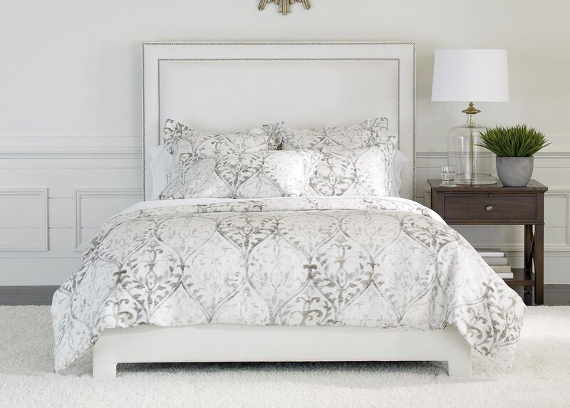 Tuscan Gate Printed Duvet Cover and Shams ,  , large_gray