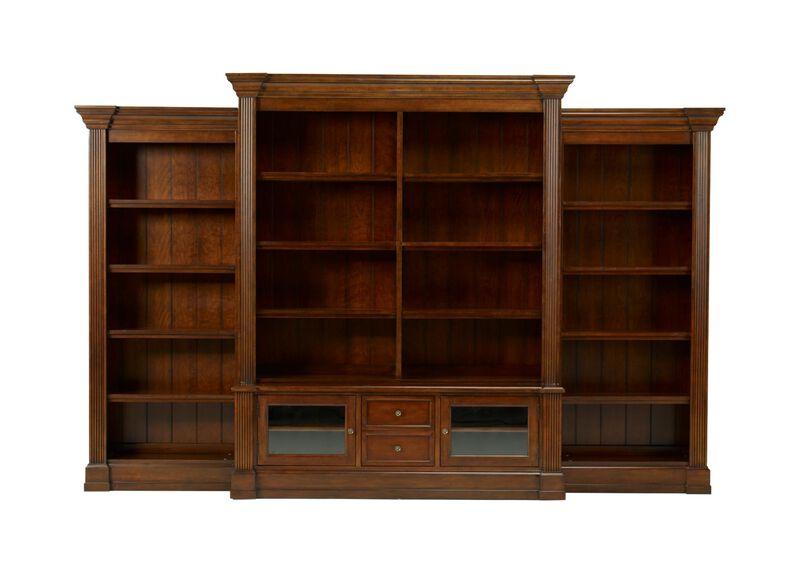 Traveller 4-piece Modular Bookcase ,  , large_gray