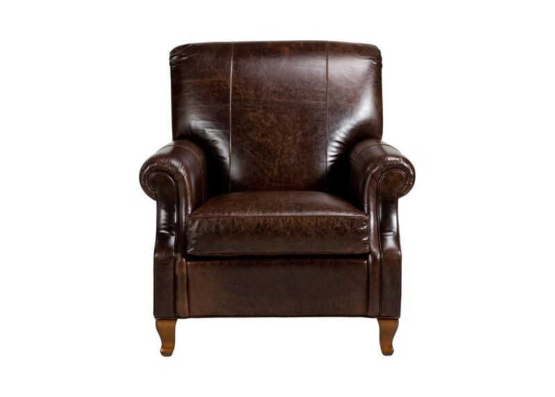 Avery Leather Chair ,  , large_gray