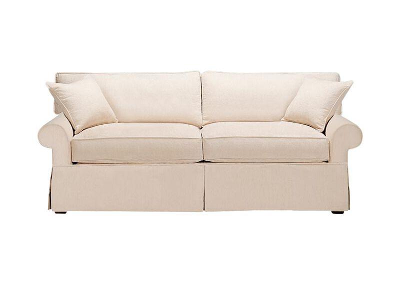 Bennett Slipcovered Sofa ,  , large_gray