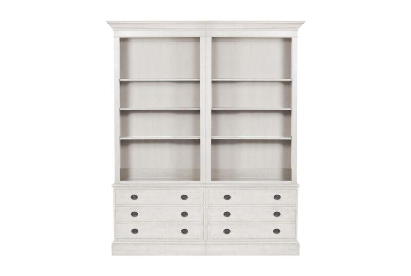 Villa Double File Bookcase ,  , large_gray