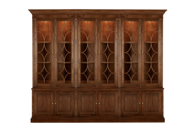 Weston Triple Bookcase ,  , large_gray
