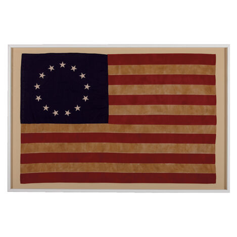 Vintage Betsy Ross Flag ,  , large