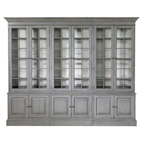 Villa Triple Library Bookcase ,  , large