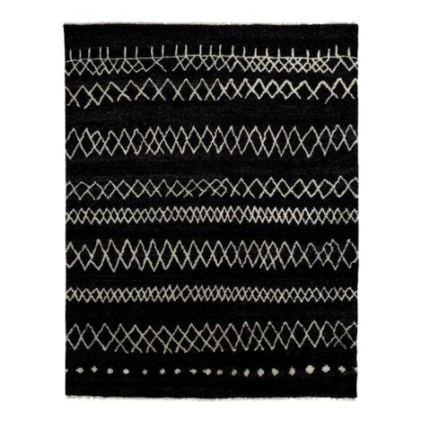 Intrinsik Rug, Black/Ivory ,  , large