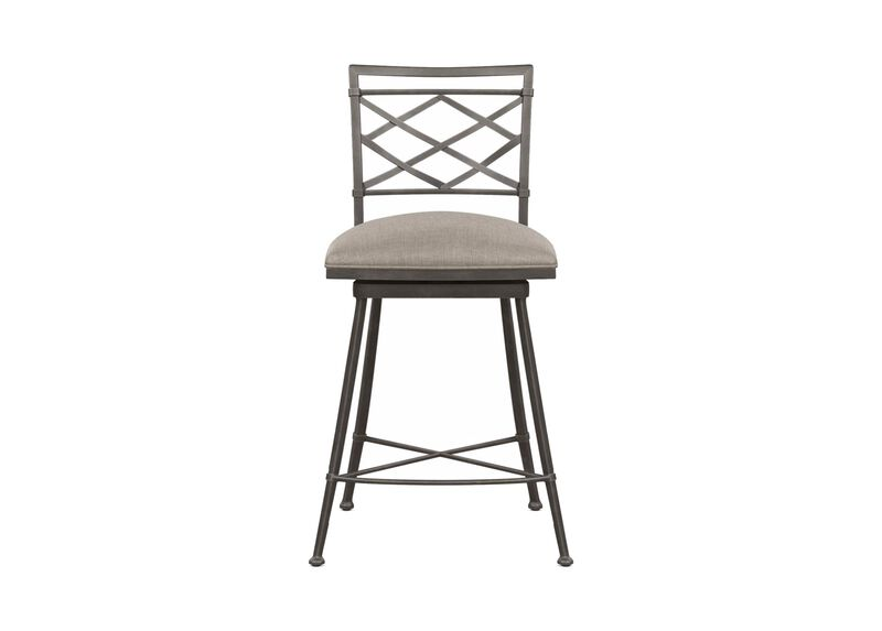 Becker Swivel Counter Stool ,  , large_gray