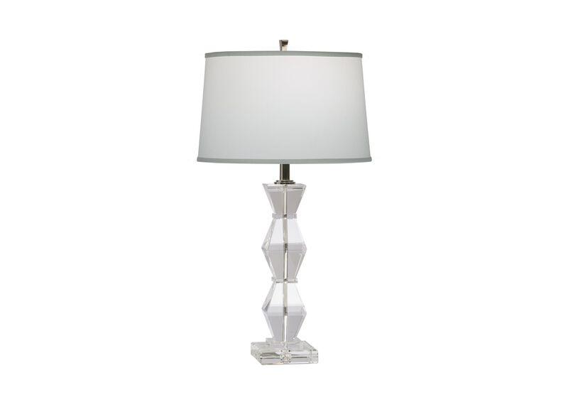 Geometric Crystal Table Lamp ,  , large_gray