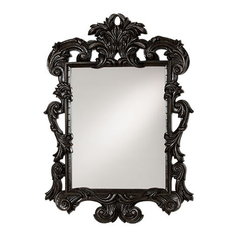 Black Ornate Mirror ,  , large