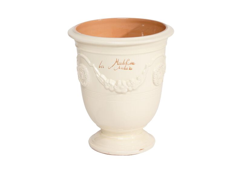Anduze No.4 Ivory Planter ,  , large_gray