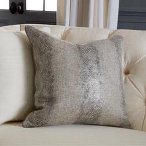 "Lucien 20"" Faux Lizard Pillow ,  , hover_image"