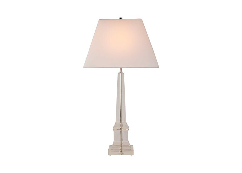 Leslie Crystal Table Lamp ,  , large_gray