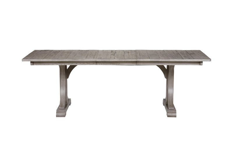 Corin Trestle Extension Dining Table ,  , large_gray