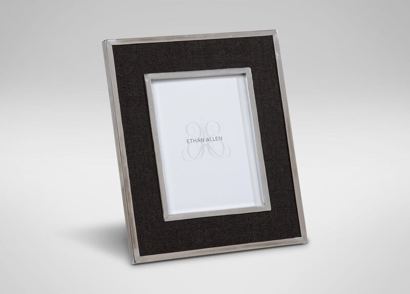 """Charcoal Wool 8"""" x 10"""" Photo Frame ,  , large_gray"""