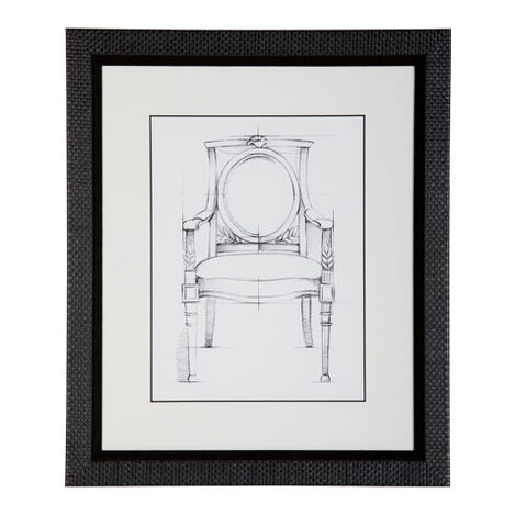 Historic Chair Sketch VIII ,  , large